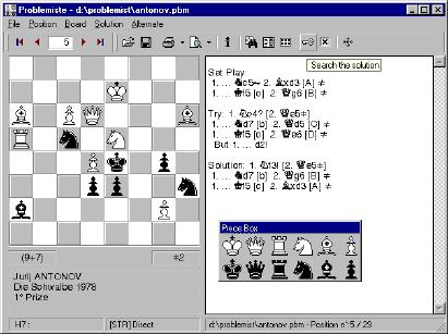 Шахматная Программа Которая Может Решать Задачи